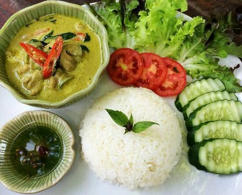 The Green Curry @ Rider's Corner