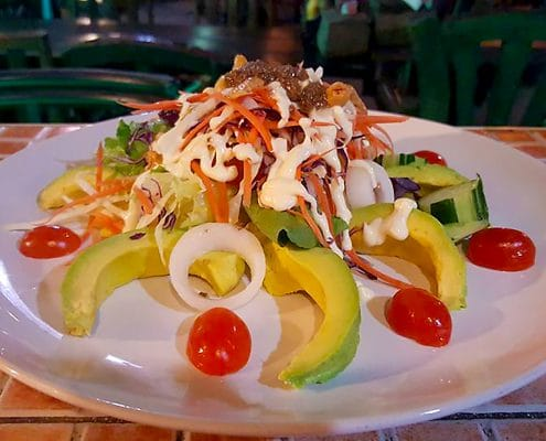 The Avocado Salad @ Rider's Corner