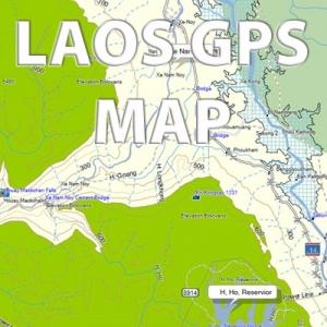 Rider's Corner LAOS GPS Map