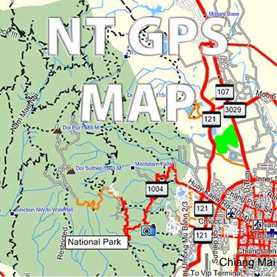 Rider's Corner NT GPS Map