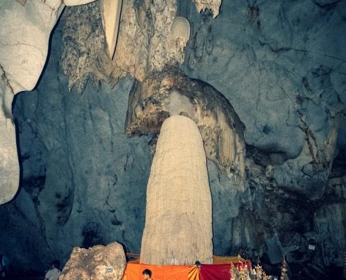 impressive 10m tall stalagmite