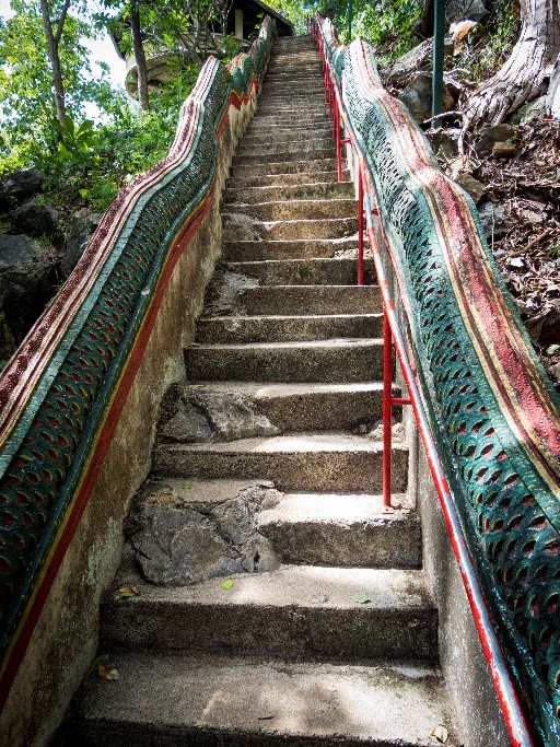 Naga serpent stairs