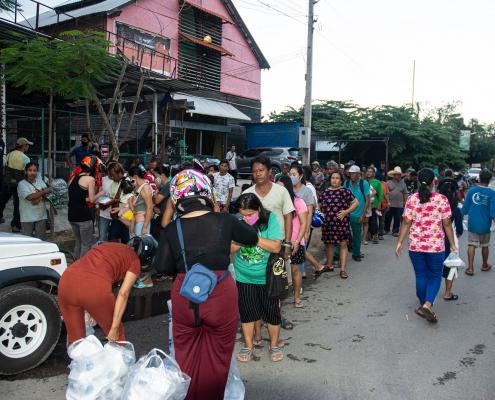 Food for Needy by Ulysses Club Thailand