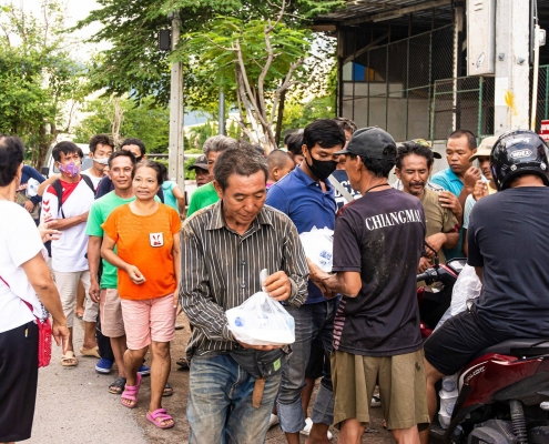 Food for Needy by Ulysses Club Thailand